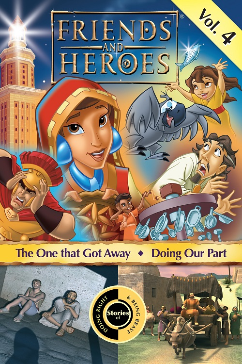 Friends and Heroes iTunes Volume 4