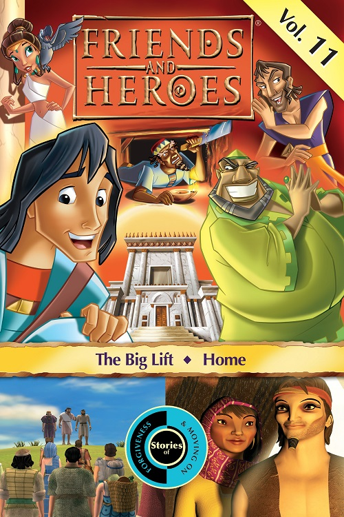 Friends and Heroes iTunes Volume 11