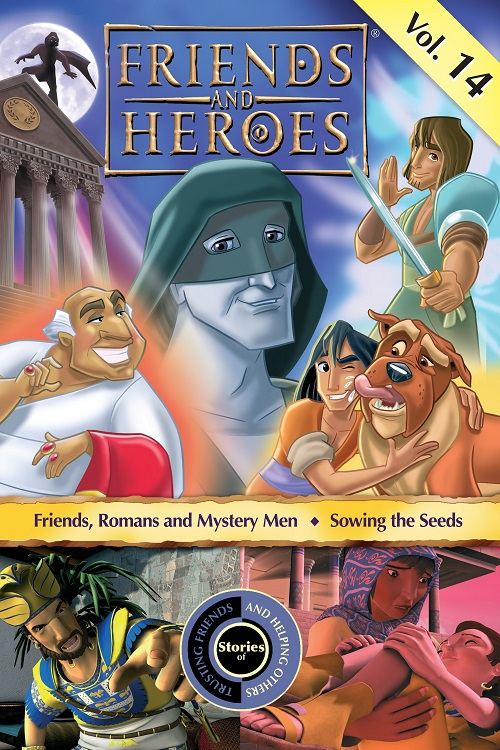 Streaming Friends and Heroes | Children's Bible Stories