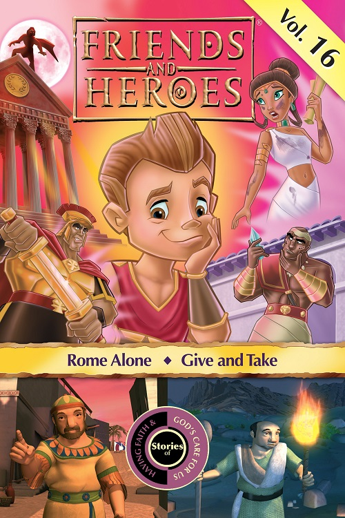 Friends and Heroes iTunes Volume 16