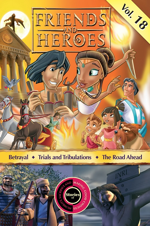 Friends and Heroes iTunes Volume 18
