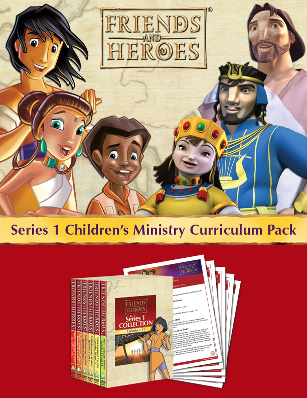 Friends and Heroes Multimedia Bible Curriculum