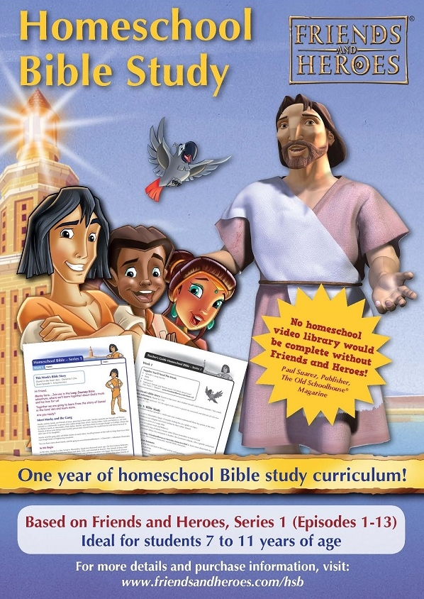 Friends and Heroes Homeschool Bible Study Curriculum