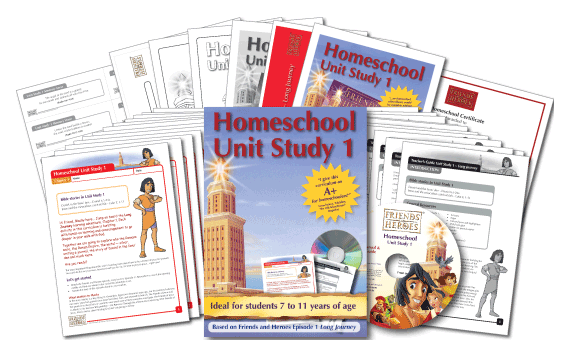 Friends and Heroes Homeschool Unit Study 1