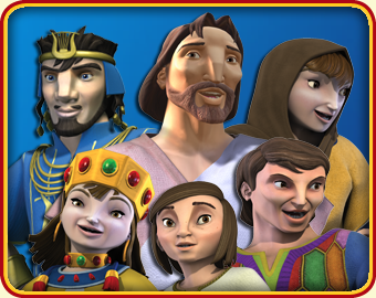 Meet The Characters Children S Animated Bible Stories