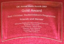 Friends and Heroes wins Gold Award