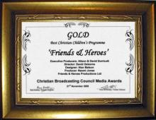 Friends and Heroes wins CBC Gold Award for second time!