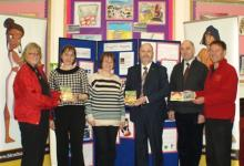 Presentation of DVDs to Island schools